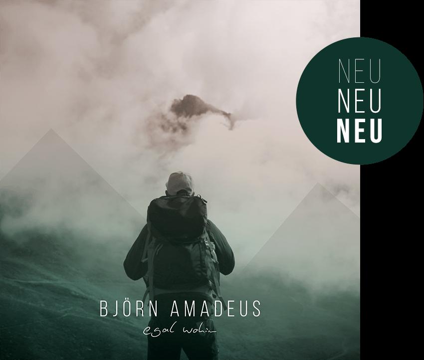 bjoern amadeus egal wohin cd cover - Björn Amadeus - Singer & Songwriter